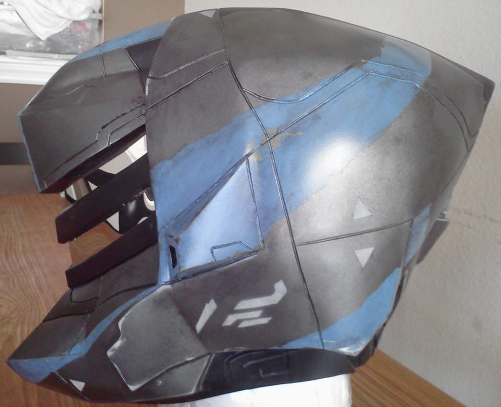 Halo 4 Venator Helmet Finished by Hyperballistik
