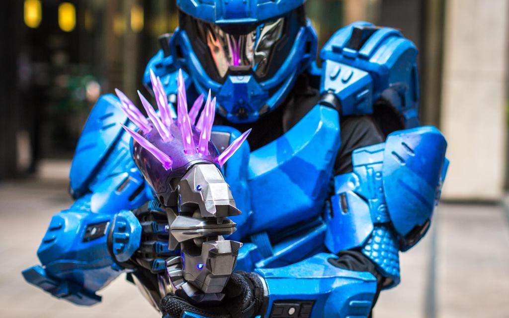 Halo 4 Recruit armor by Hyperballistik