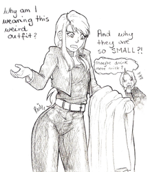 FMA If Winry were the main character by KGX347