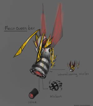 Mech queen bee Terraria