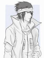 Hokage Sasuke by lawlliets