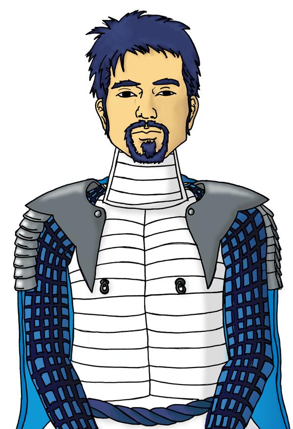 Hinjo the Samurai by Avistew