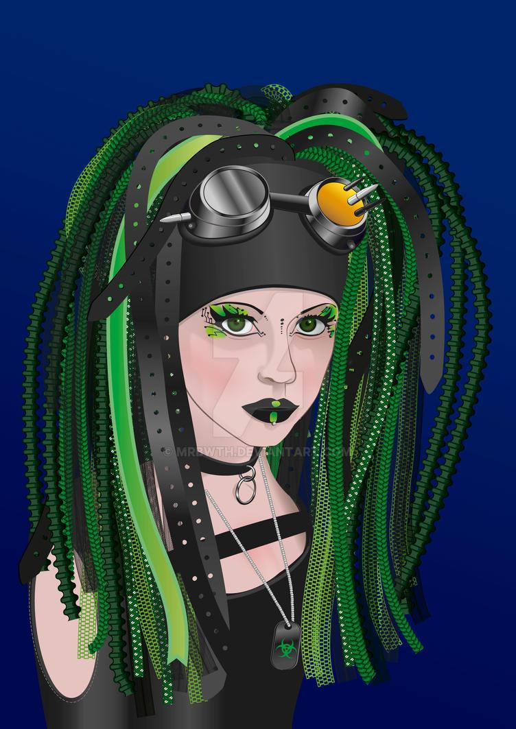 MrBwth-gothgirl by MrBwth