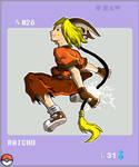 Gijinka Pokemon 026 Raichu