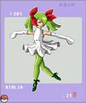 Gijinka Pokemon 281 Kirlia