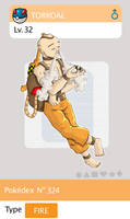 Gijinka Pokemon 324 Torkoal