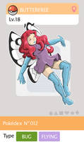 Gijinka Pokemon 012 Butterfree