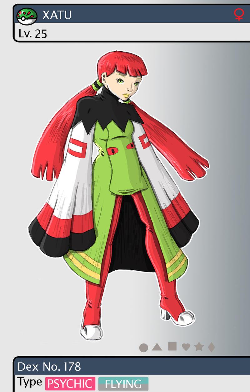 Gijinka Pokemon 178 Xatu by saurodinus on DeviantArt