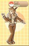 Gijinka Pokemon 133 Eevee