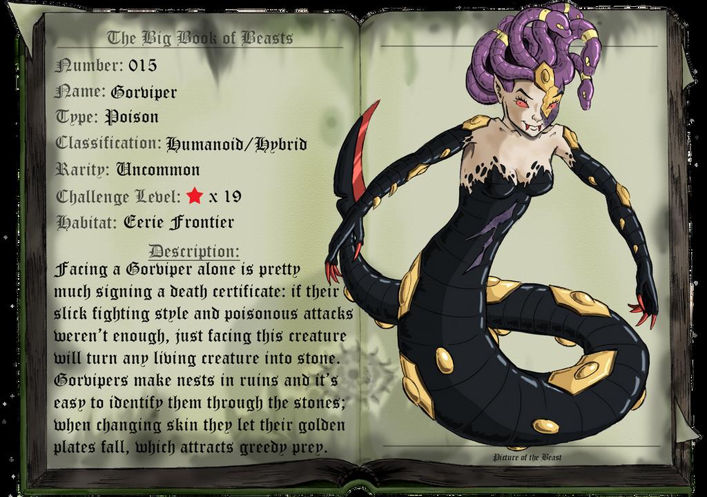 Beast 015: Gorviper by saurodinus