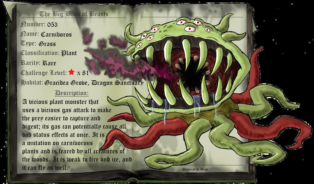 Beast 053: Carniboros by saurodinus