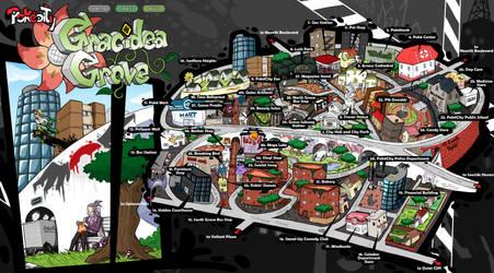 PokeCity Map: Gracidea Grove District