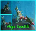 Mega Sceptile papercraft