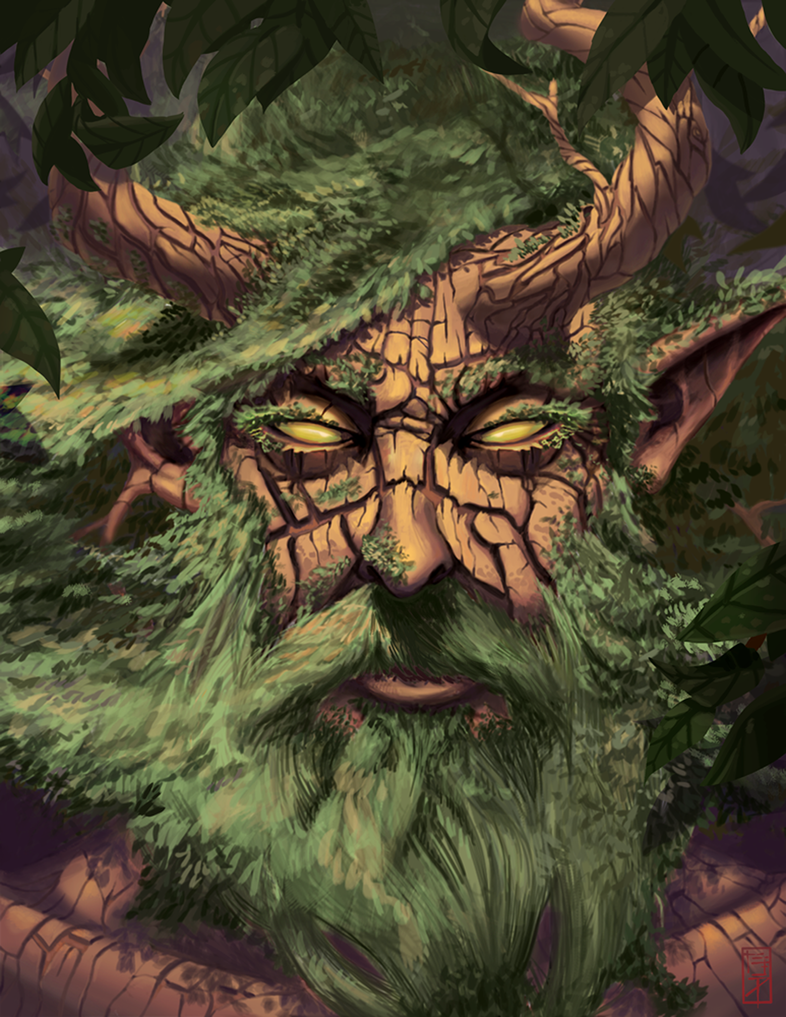 Elder Tree Druid by RicARToLima
