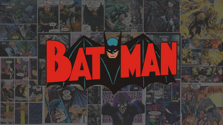 Batman Retro Wallpaper by MetallicaSeid