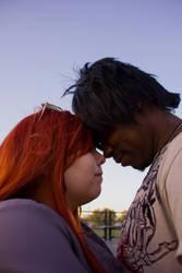 Rika and Sora love by DeLightfulfreak