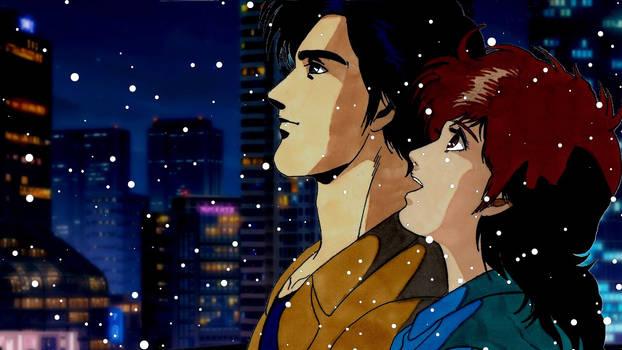 Ryo  Kaori (City Hunter 3)