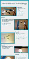 Polymer clay eye tutorial (for plushies)