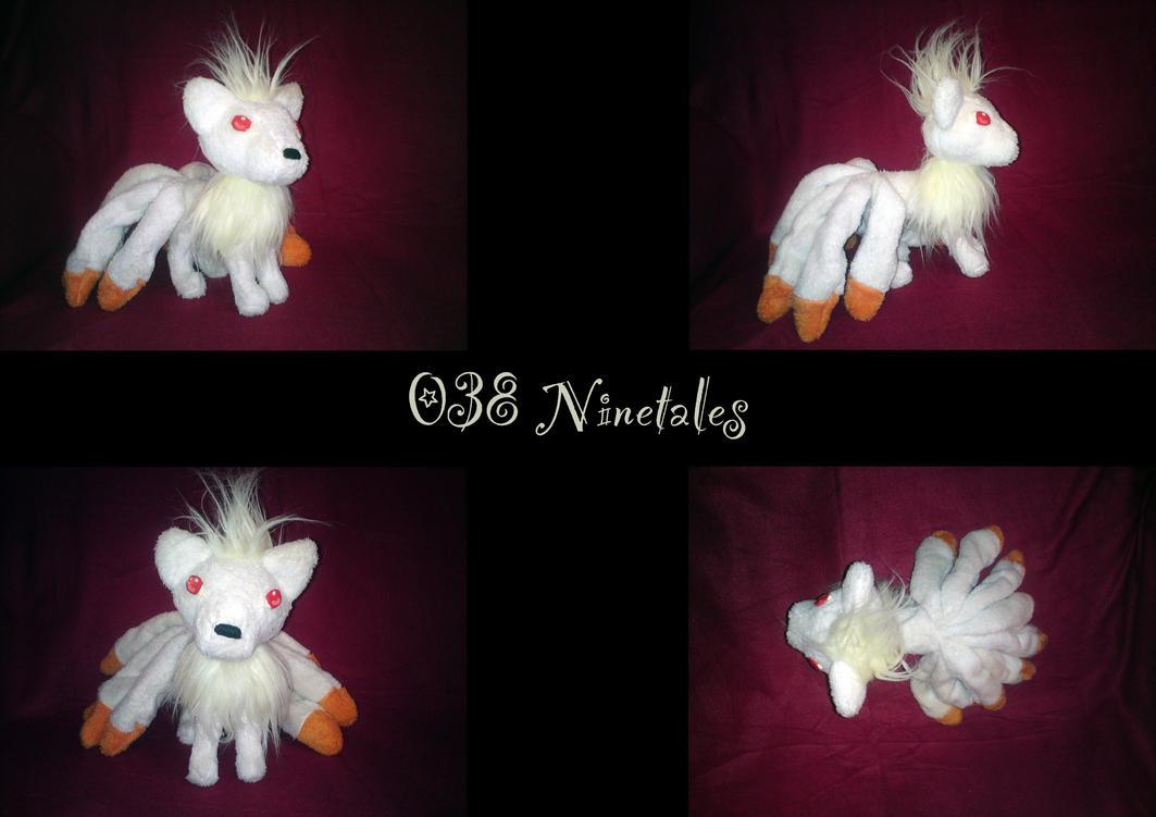 Plush Ninetales by nfasel