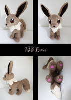 Eevee plush by nfasel