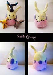 shiny goomy plush