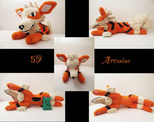 Arcanine plush by nfasel