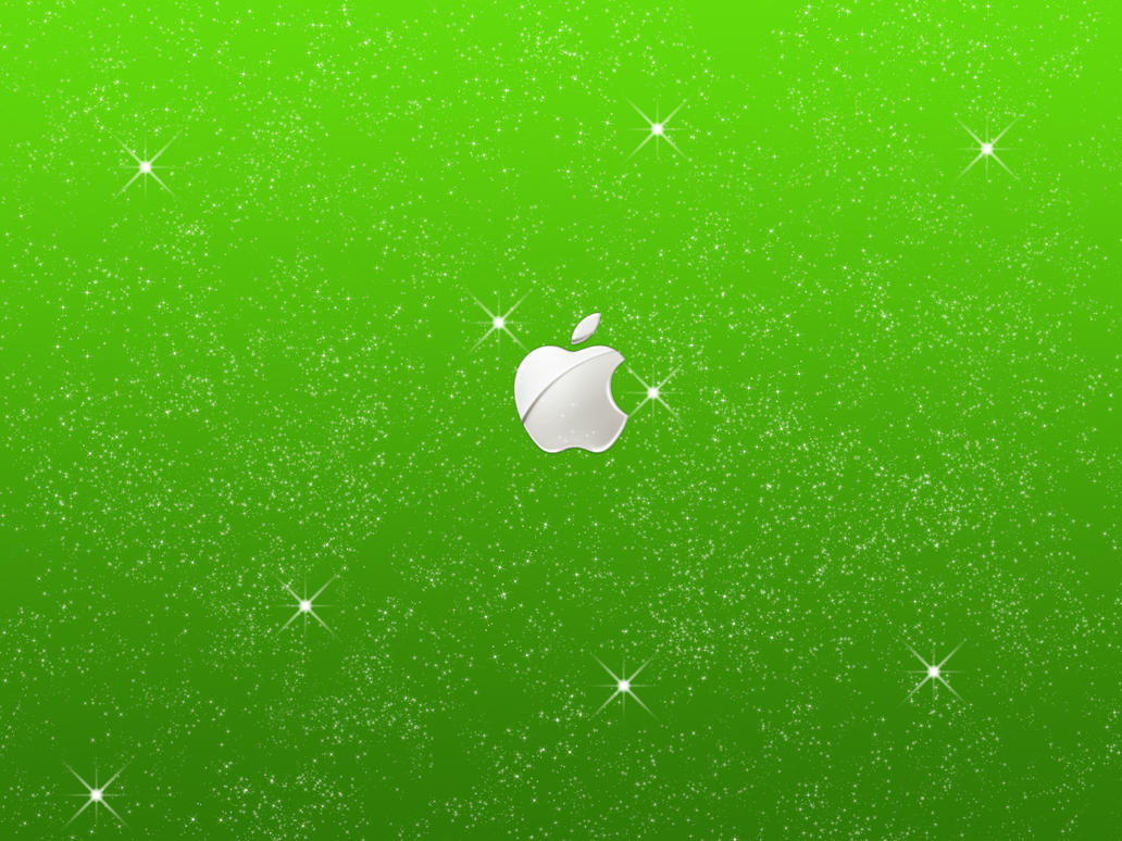 Apple Starry Wallpaper by Oliuss