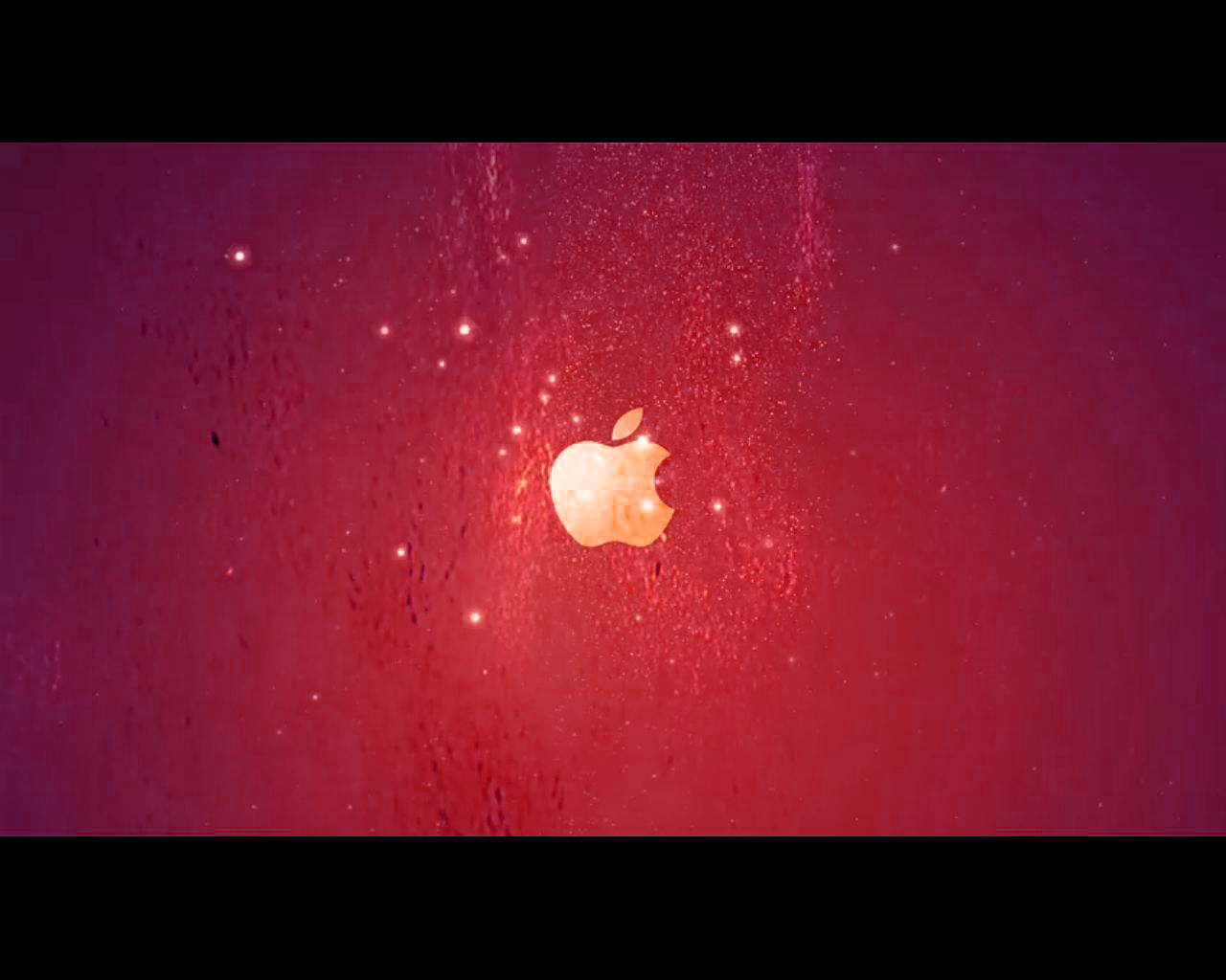 iPod + iTunes Ad Red by Oliuss