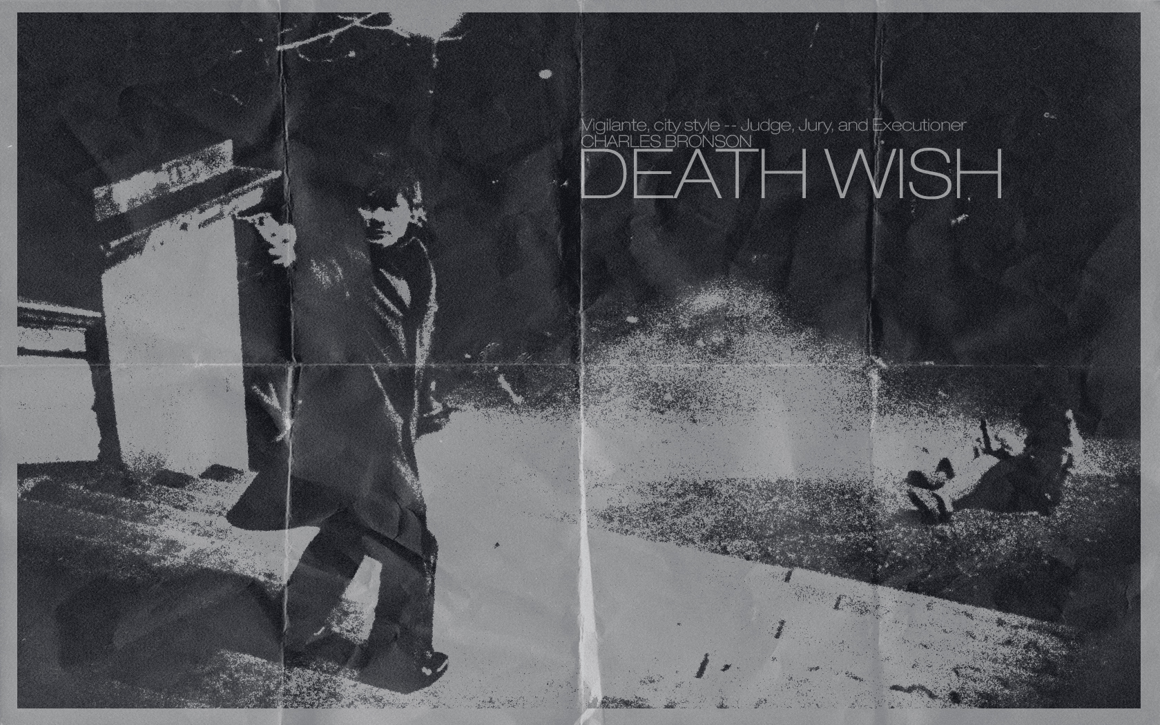 Charles Bronson Death Wish wallpaper (1680 X 1050) by ...