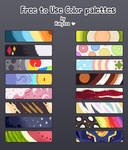 Free to use palettes