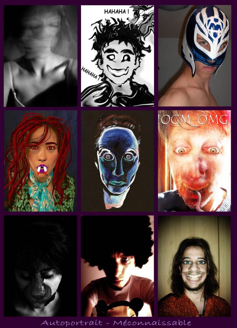 Autoportrait - Meconnaissable by ForumFrancophone