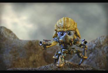 Evil Alien Trooper by hauke3000