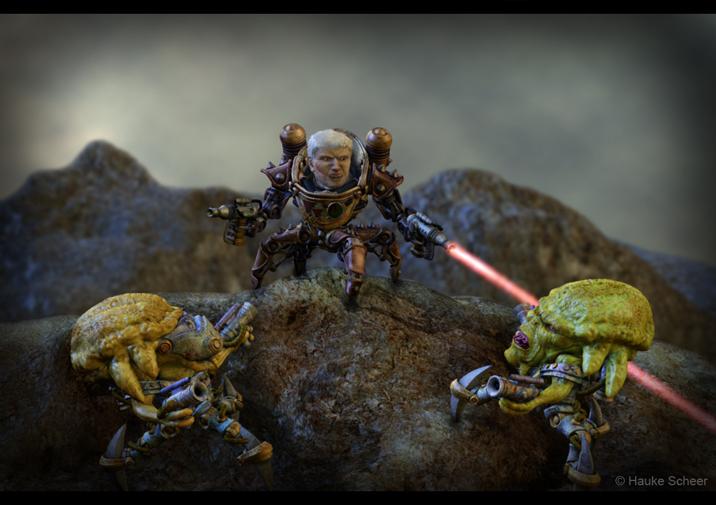 Alien Attack by hauke3000