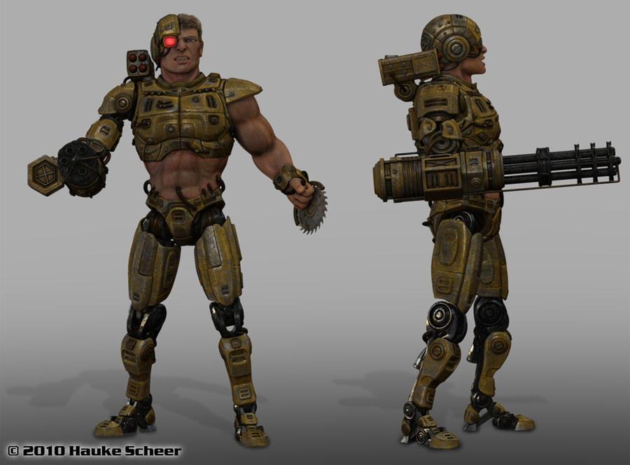 Bionic Bjoern I by hauke3000