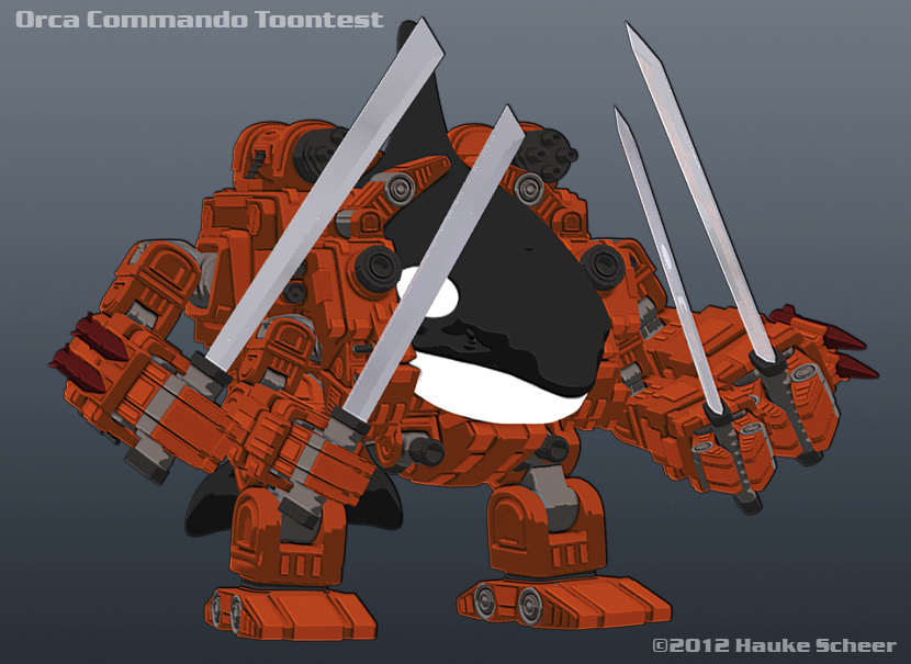Orca Commando Toontest by hauke3000