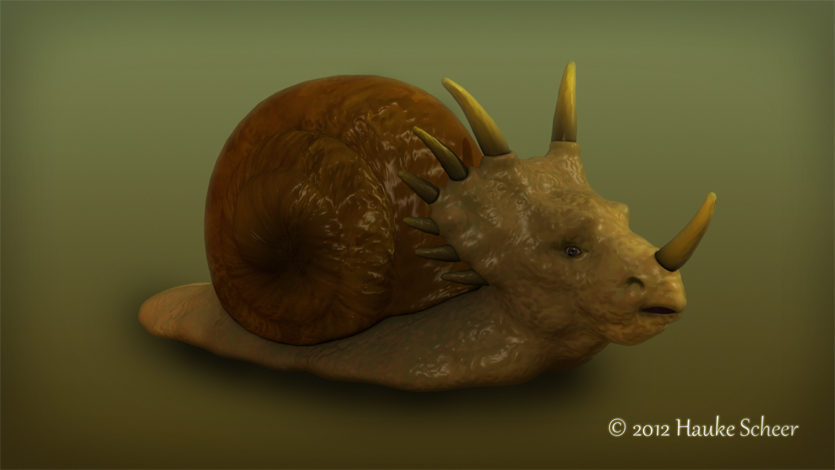 Dinosnail by hauke3000