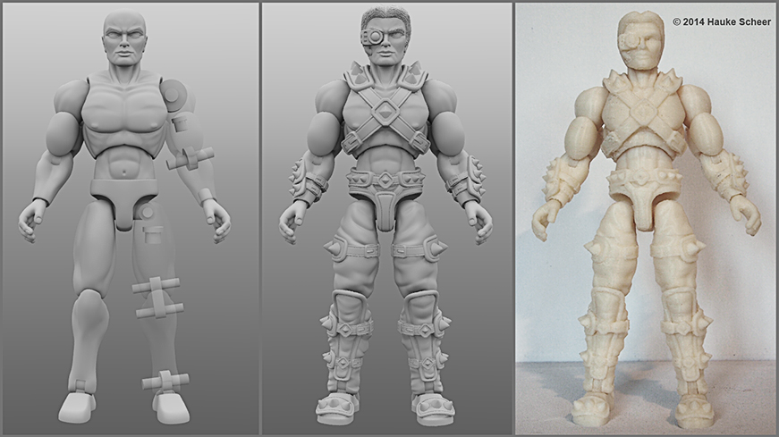 3d Printed Action Figure Page 3 Toy Discussion At