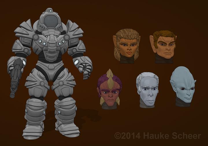 Defender Armor I by hauke3000