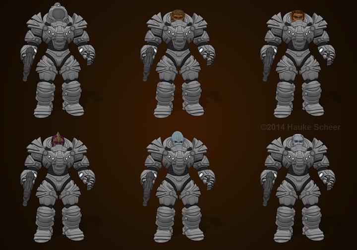 Defender Armor II by hauke3000