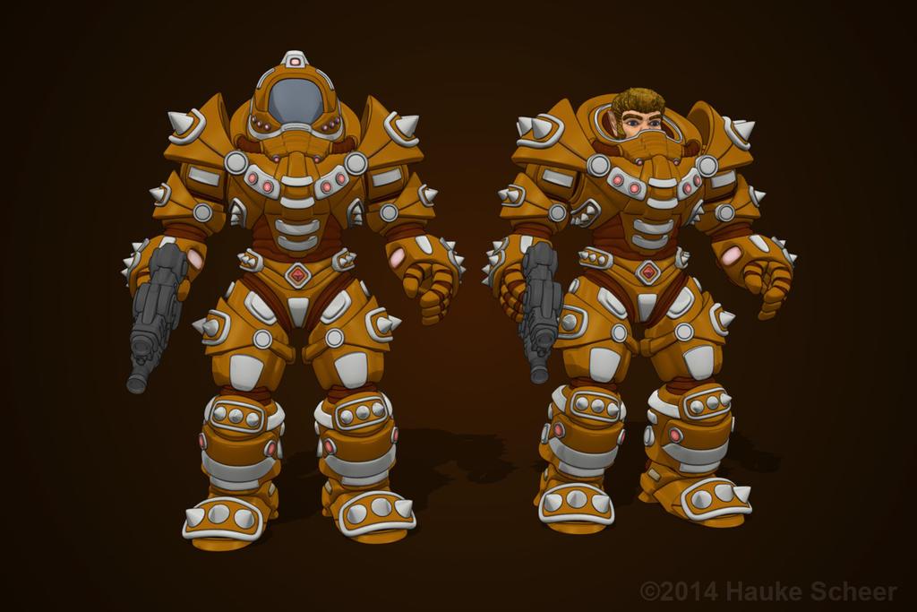 Scavenger Armor by hauke3000