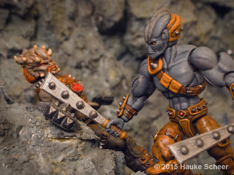 3D printed space scavenger vs space pirate C by hauke3000