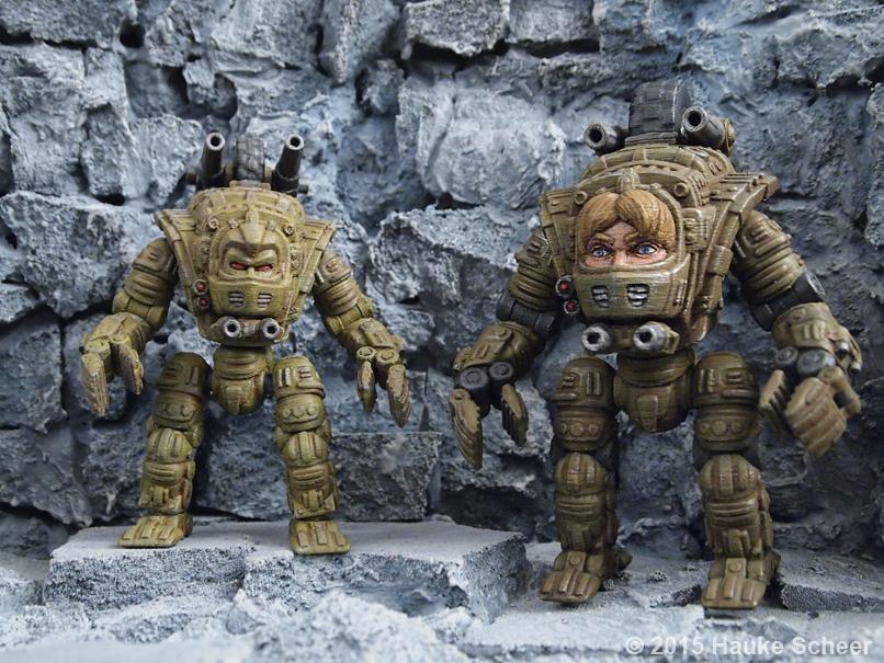 Headwalker models comparison by hauke3000