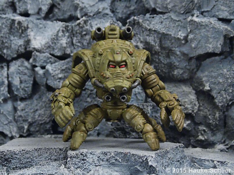 3D printed Robot Druid by hauke3000