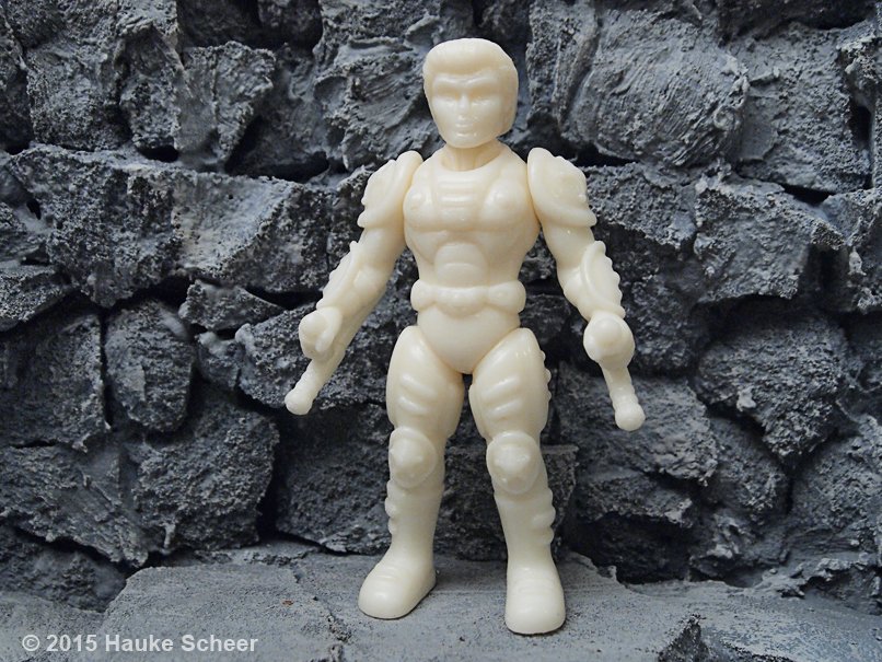 3D printed smoothed figure - unpainted by hauke3000