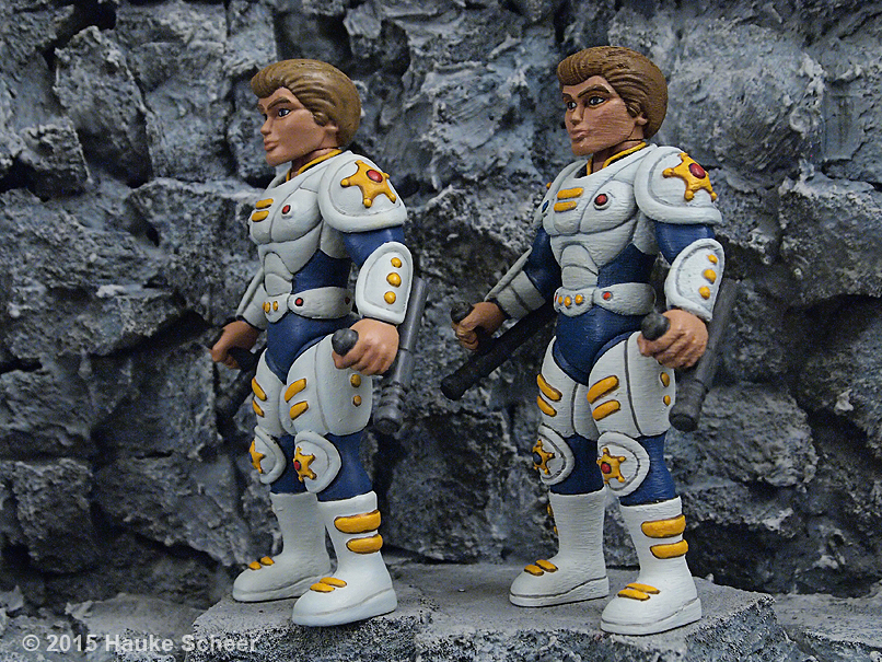 3d printed action figures smoothing comparison B by hauke3000