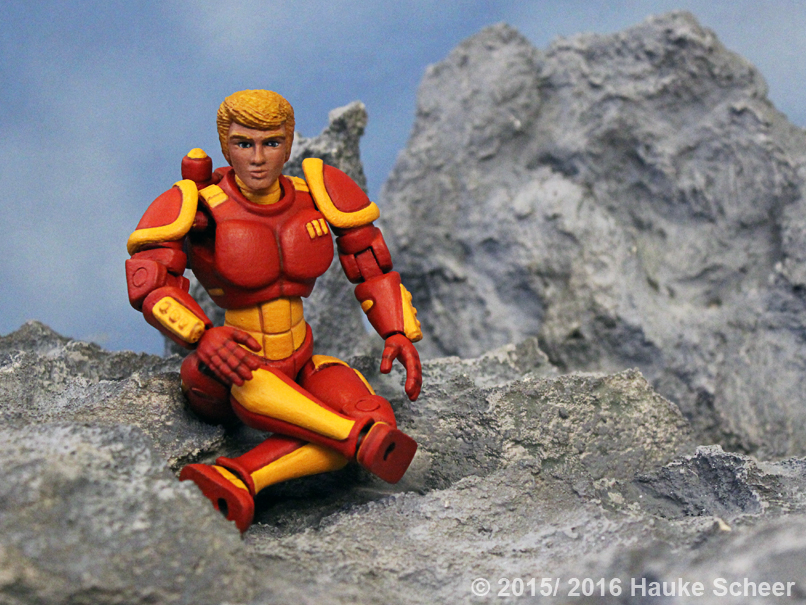 3D printed Human Space Hero C by hauke3000