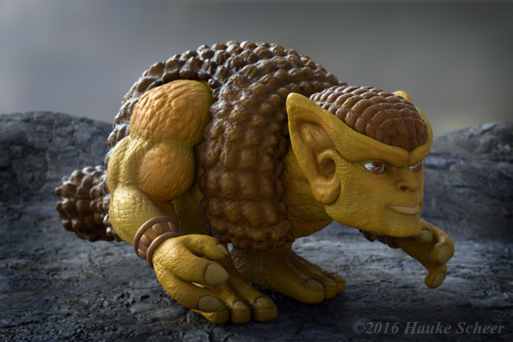 Glyptodor 3D  Neutral by hauke3000