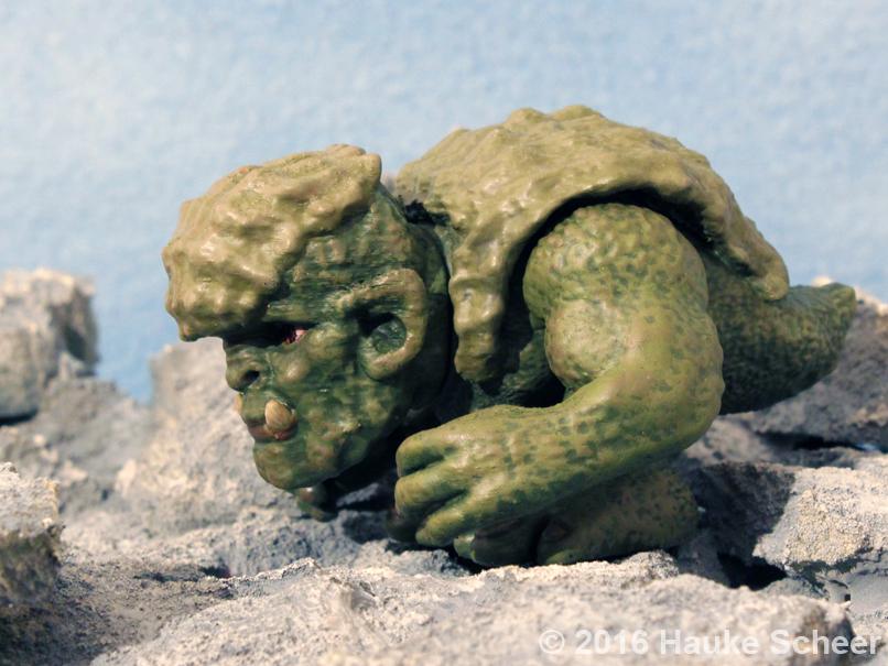 3D printed Troll figure side view by hauke3000