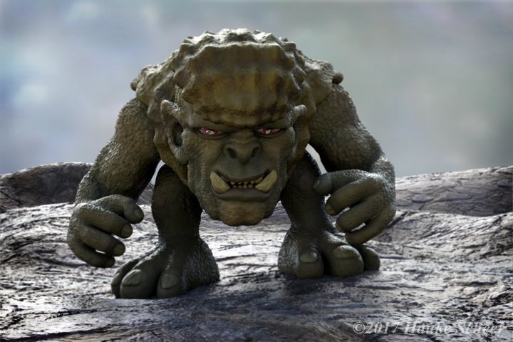 Troll posed I by hauke3000