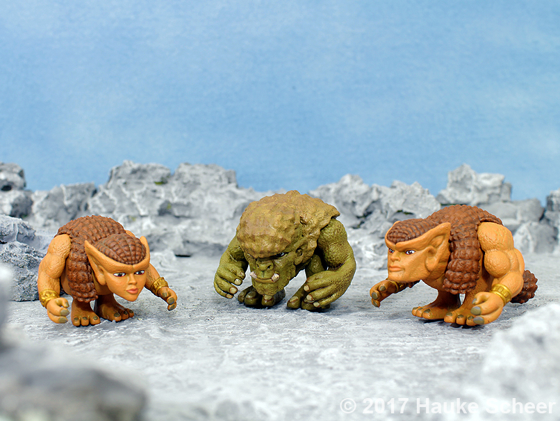 3D printed Fantasy Creatures resin prints by hauke3000